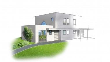 Constructeur maison contemporaine à Strasbourg
