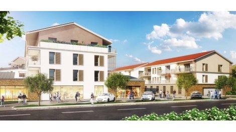 Appartement neuf Ambiance Dorée investissement loi Pinel à Lozanne