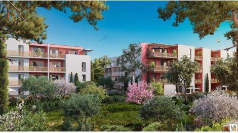Appartement neuf Poème éco-habitat à Montpellier
