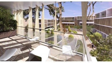Appartement neuf My Pure Residence éco-habitat à Saint-Jean-de-Vedas