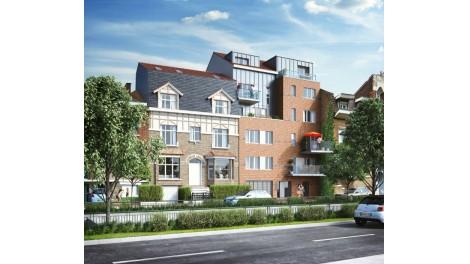 Appartements et maisons neuves La Squadra investissement loi Pinel à Marcq-en-Baroeul