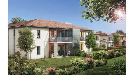 Appartements et villas neuves Le Pré Amaryllis éco-habitat à Saint-Loup-Cammas