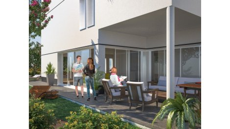 Appartement neuf Clos Esteban éco-habitat à Pessac