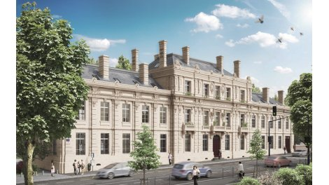 Appartement neuf Hôtel Particulier éco-habitat à Bordeaux