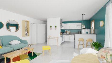 Appartement neuf L'Îlot éco-habitat à Bordeaux