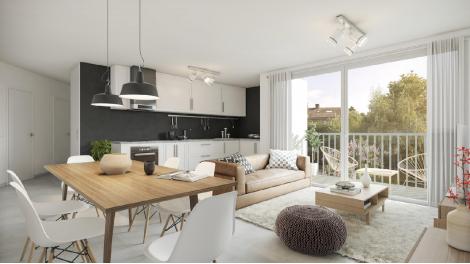 Appartement neuf La Coulée Verte investissement loi Pinel à Châtenay-Malabry