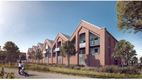 Appartements et maisons neuves L'Héritage Motte Cordonnier éco-habitat à Armentières