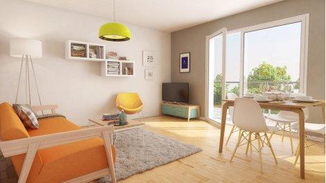 Appartement neuf La Golfeuse éco-habitat à Villenave-d'Ornon