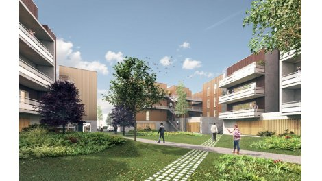 Appartement neuf Kuboa éco-habitat à Mérignac