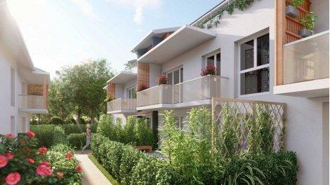 Appartement neuf Le Saint Aubin éco-habitat à Parempuyre