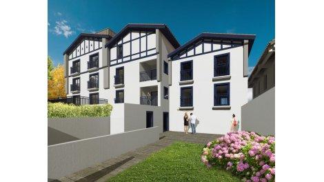 Appartements neufs Villa Lohobiague éco-habitat à Saint-Jean-de-Luz