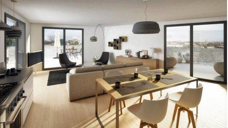 Appartement neuf Meridiem éco-habitat à Le Bouscat