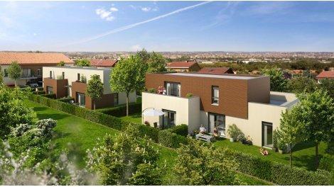 Appartements et maisons neuves Allées de Jade éco-habitat à Toulouse