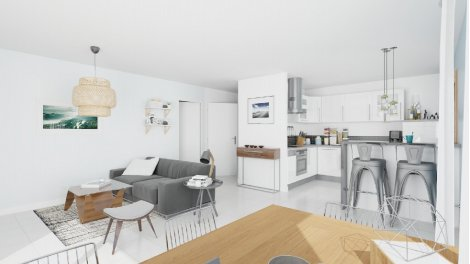 Appartement neuf Coeur Arena investissement loi Pinel à Toulouse