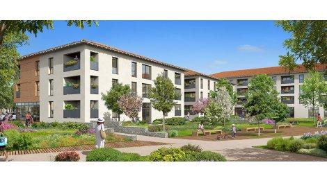 Appartement neuf Saint Jory Centre éco-habitat à Saint-Jory