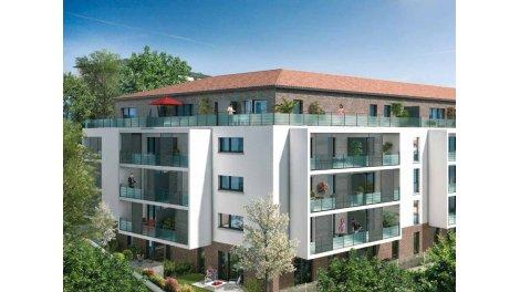 Appartements neufs Esprit Jolimont éco-habitat à Toulouse