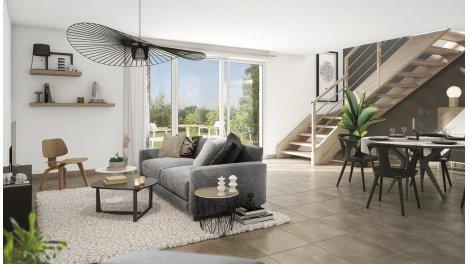 Appartement neuf Les Hauts de Guilhemery éco-habitat à Toulouse