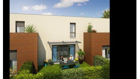 Appartements et maisons neuves Les Jardins de Jade éco-habitat à Toulouse