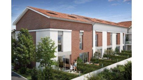 Appartements et maisons neuves Navarra investissement loi Pinel à Toulouse