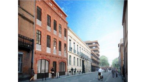 Appartement neuf Coeur Jaures éco-habitat à Toulouse