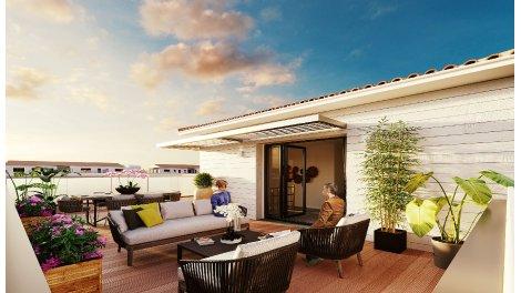 Appartement neuf Les Bastides de Ravel éco-habitat à Colomiers
