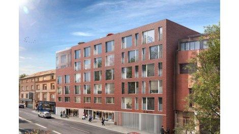 Appartement neuf City Park éco-habitat à Toulouse