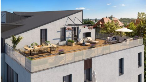Appartement neuf Les Terrasses d'Offenbach éco-habitat à Toulouse
