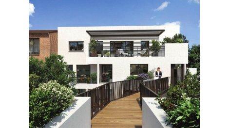 Appartements neufs Jumeaux de Brienne éco-habitat à Toulouse