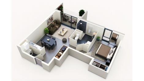 Appartement neuf Bel Ange éco-habitat à Saint-Jory