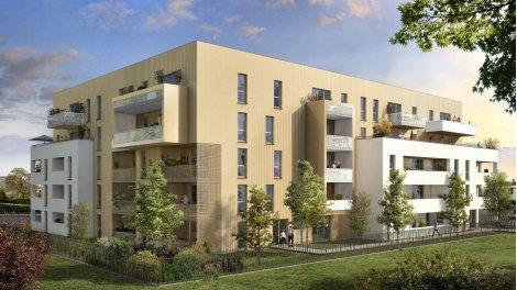 Appartement neuf Les Hauts de l'Ormeau éco-habitat à Toulouse