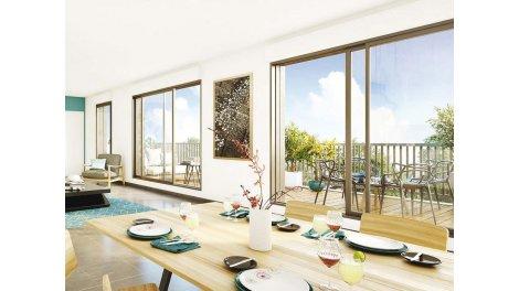 Appartements neufs Le Clos Paulmy éco-habitat à Bayonne