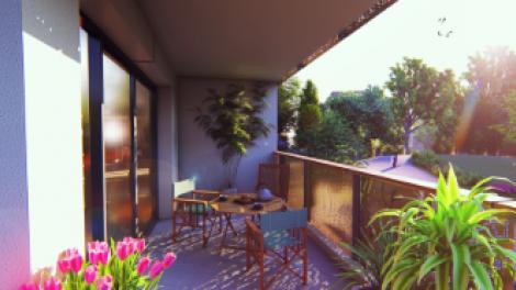 Appartement neuf Le Bayonne éco-habitat à Bayonne