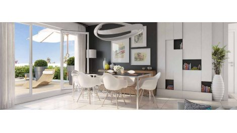 Appartement neuf Larochefoucauld éco-habitat à Biarritz