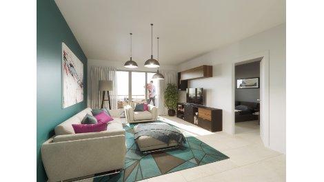 Appartement neuf Les Pins éco-habitat à Capbreton