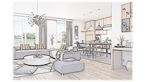 Appartement neuf L'Unique éco-habitat à Latresne
