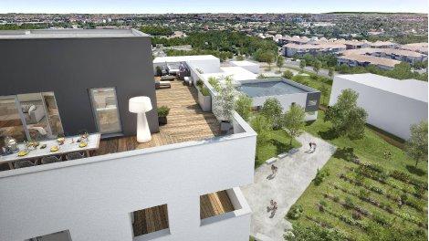 Appartement neuf Les Jardins du Soleil investissement loi Pinel à Toulouse