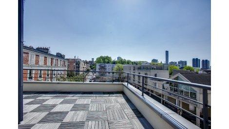 Appartement neuf Bagnolet - sj investissement loi Pinel à Bagnolet