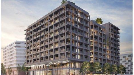 Appartement neuf Paris 13ème - sj éco-habitat à Paris 13ème