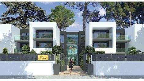 Appartement neuf Garden Berthelot investissement loi Pinel à Montpellier