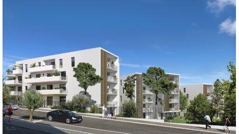 Appartement neuf Green Garden investissement loi Pinel à Montpellier