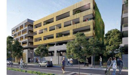 Appartement neuf Aurum investissement loi Pinel à Montpellier