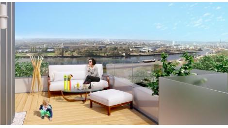 Appartement neuf Côté Seine éco-habitat à Rouen