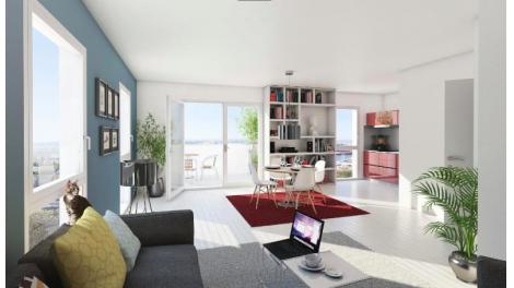 Appartements neufs Côté Seine investissement loi Pinel à Rouen
