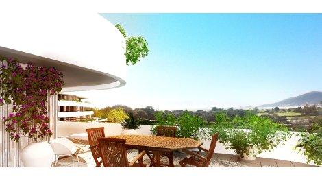 Appartement neuf Les Terrasses d'Acqua Glisse éco-habitat à Porticcio