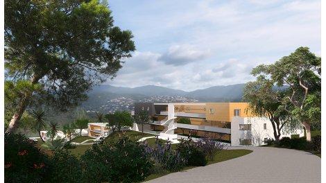 Appartement neuf Résidences du Fort éco-habitat à Porticcio