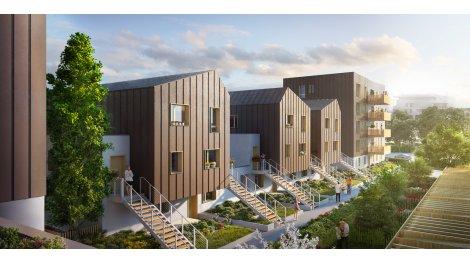 Appartement neuf EKO2 investissement loi Pinel à Strasbourg
