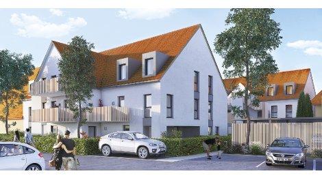 Appartements neufs Coeur de Village investissement loi Pinel à Holtzheim