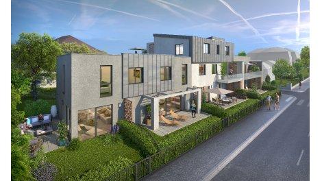 Appartements et maisons neuves Les Linottes éco-habitat à Strasbourg