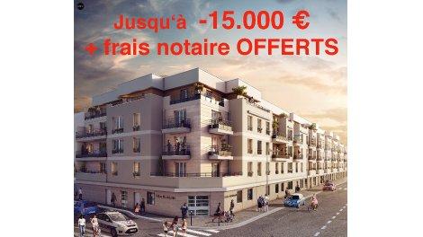 Appartement neuf Espace Marceau investissement loi Pinel à Drancy