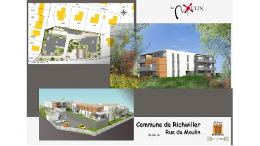 Appartement neuf Le Moulin investissement loi Pinel à Richwiller